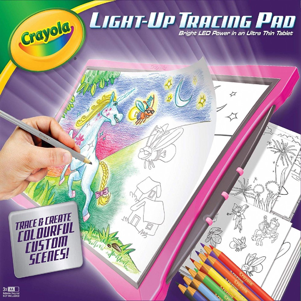 Crayola Light Up Tracing Pad for Girls