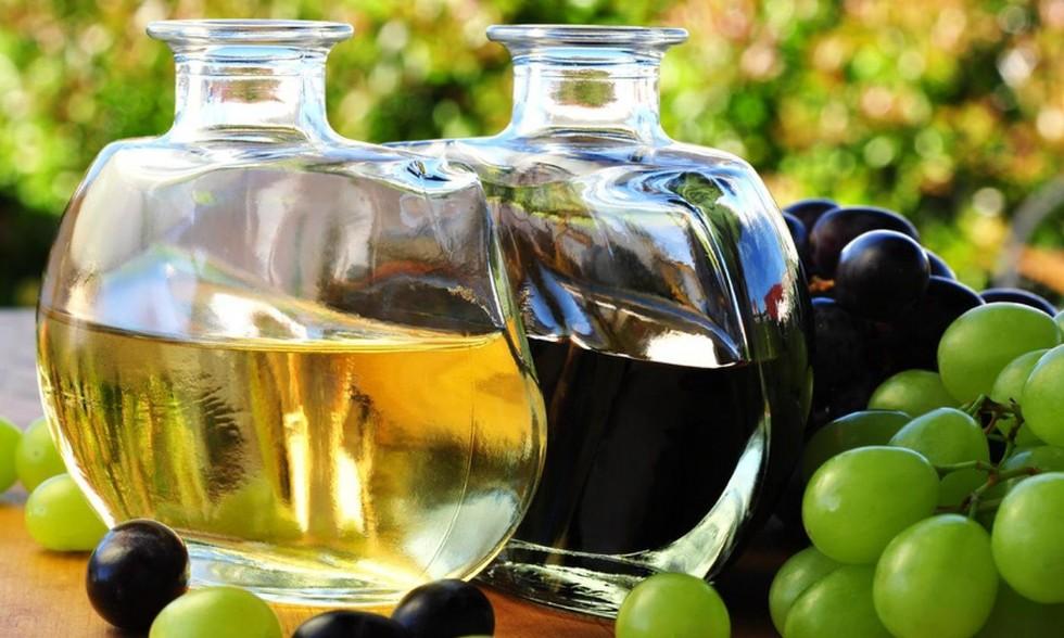 Grape cider vinegar