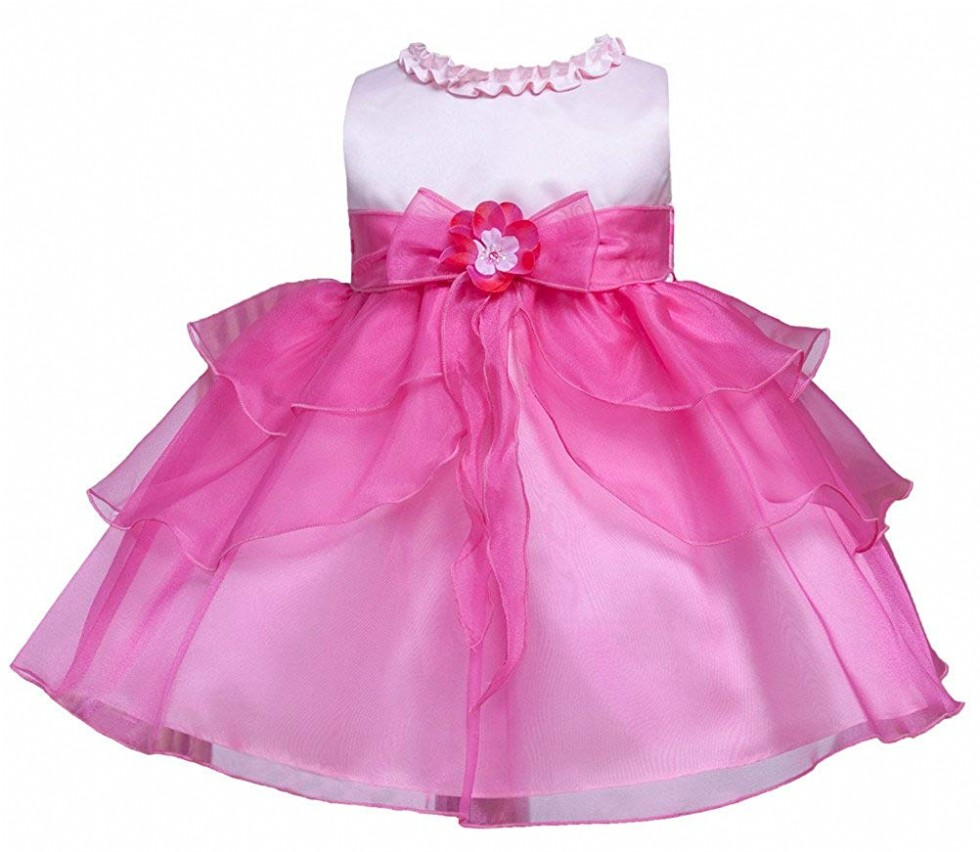 Kid Collection Baby-Girls Ruffle Tiered Dress