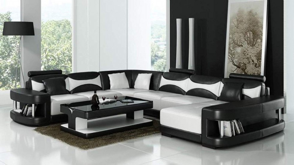 Luxury Modern Palermo U Shape Sectional Sofa