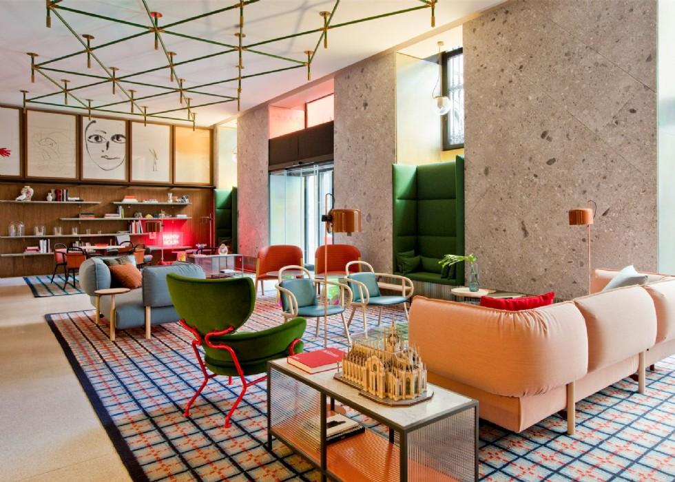 Patricia Urquiola designs Milan outpost