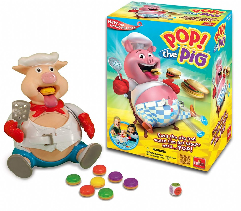 Pop the Pig Game Belly-Busting Fun as You Feed Him Burgers and Watch His Belly Grow