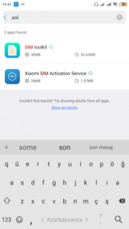 SIM card on your Xiaomi Mi 6
