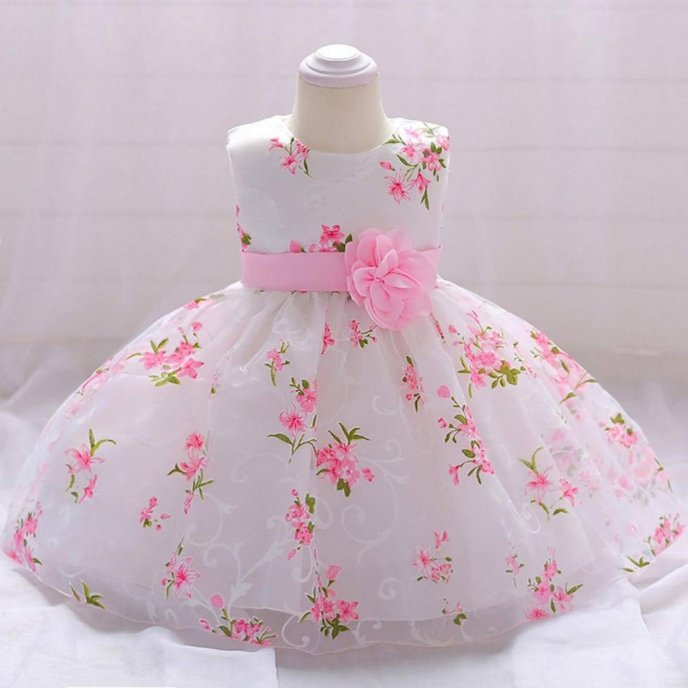 WEEKEND SHOP Baby Dress Newborn Baby Girls Dresses Birthday New Born Princess Baby Skirt