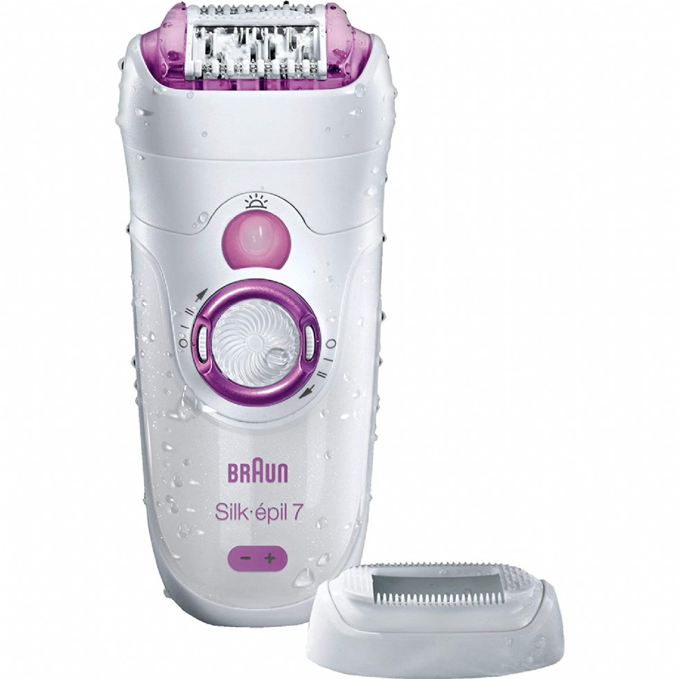 Can you use soap with an epilator?