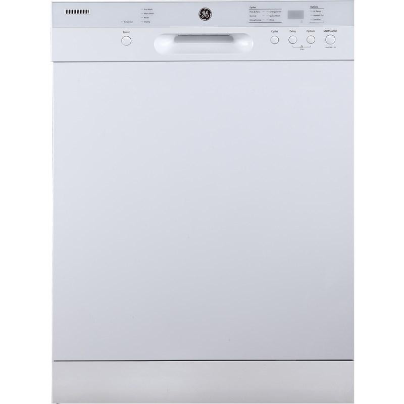 How do you cancel a cycle on a GE dishwasher?