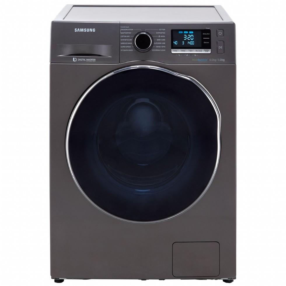 How do you reset a Samsung washing machine?