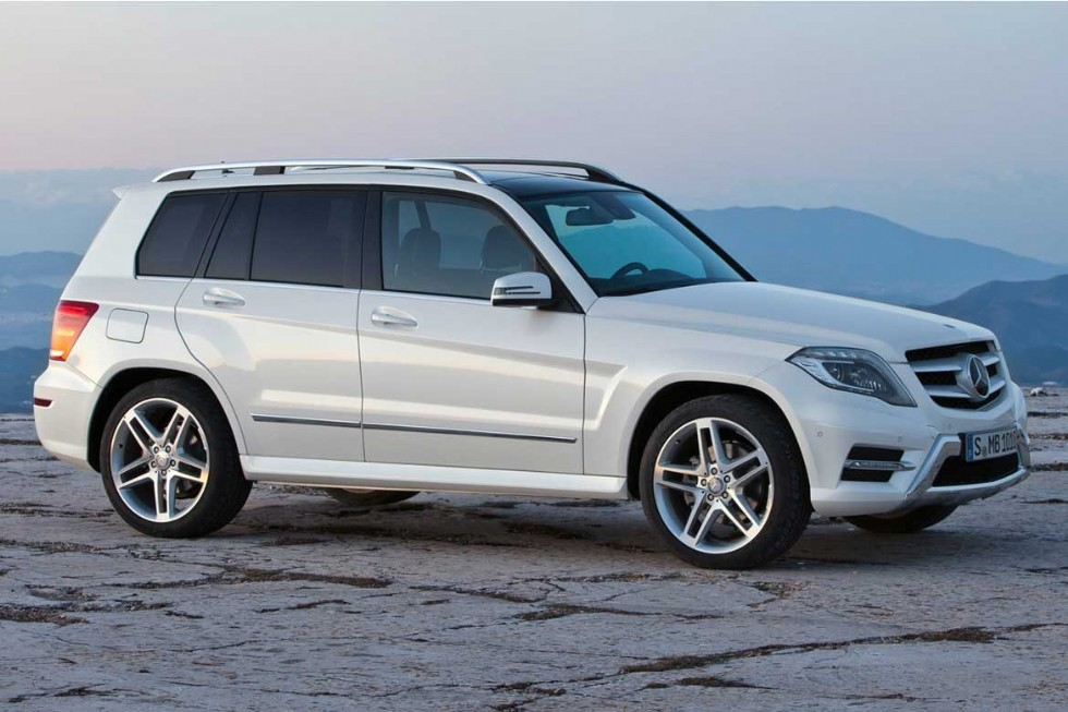 How many miles does a Mercedes GLK 350 last?