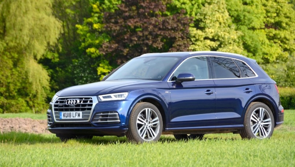 How much is an oil change in an Audi q5?