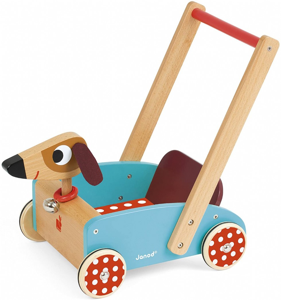 Janod Crazy Doggy Cart