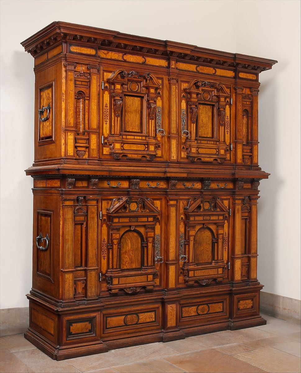17th century furniture Metropolitan Museum of Art, Cabinet (Fassadenschrank) German