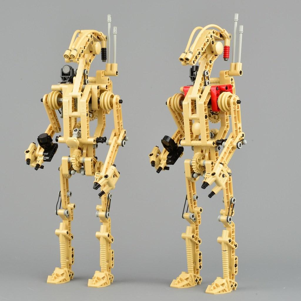 4 BATTLE DROÏDE brun Mini Figurine NEW  Star wars