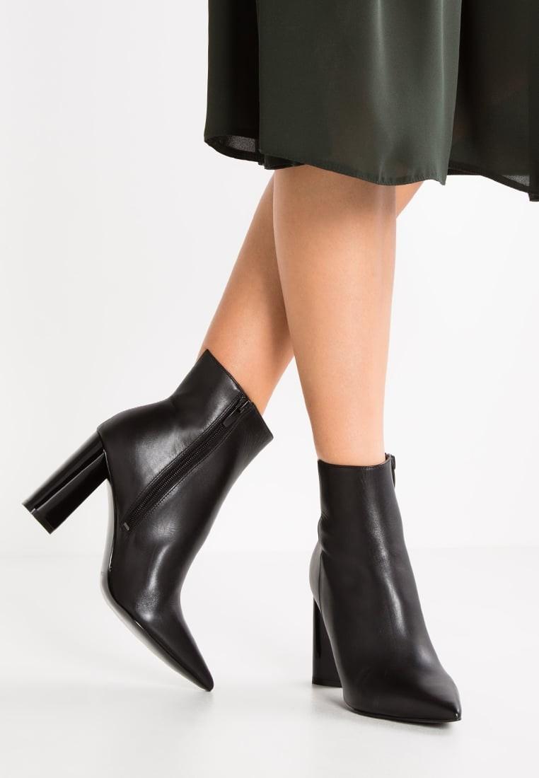 Black High Heel Dress Boots