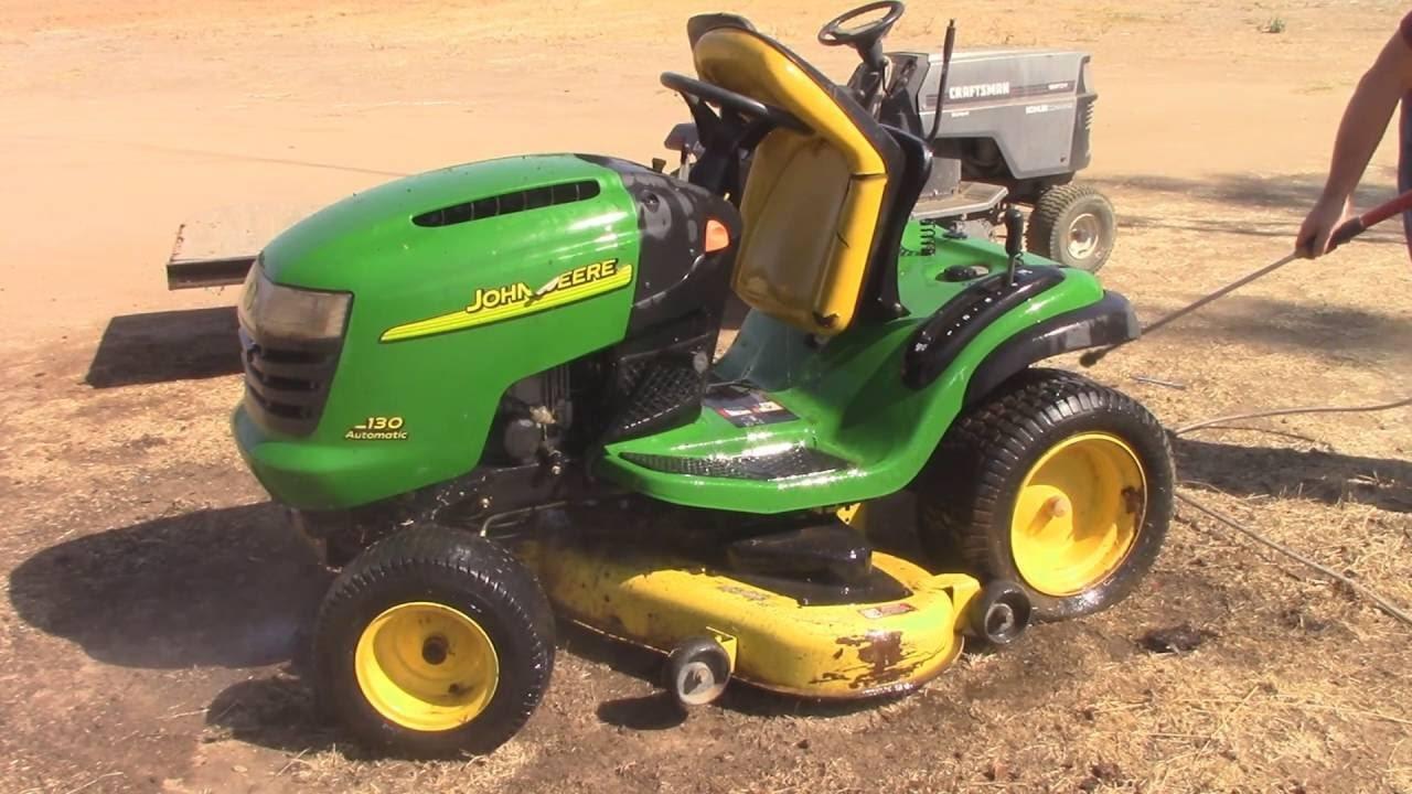 John Deere L130 lawn mower Lawn & Garden