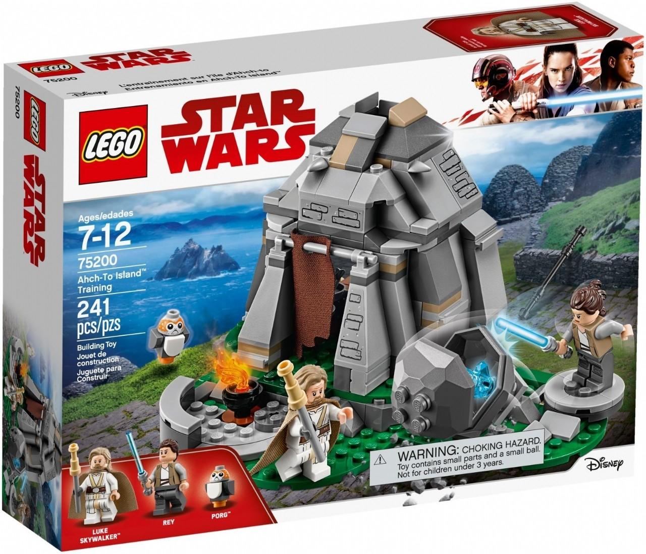 Lego Star Wars Ahch To Island Training