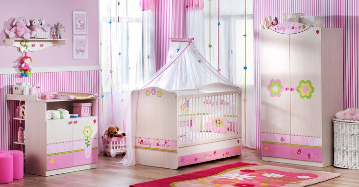 pictures for baby girl room