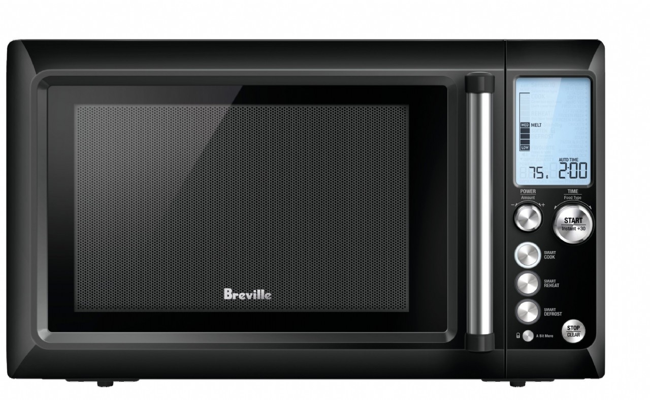 Breville BMO735BKS 34L the Quick Touch Microwave Oven