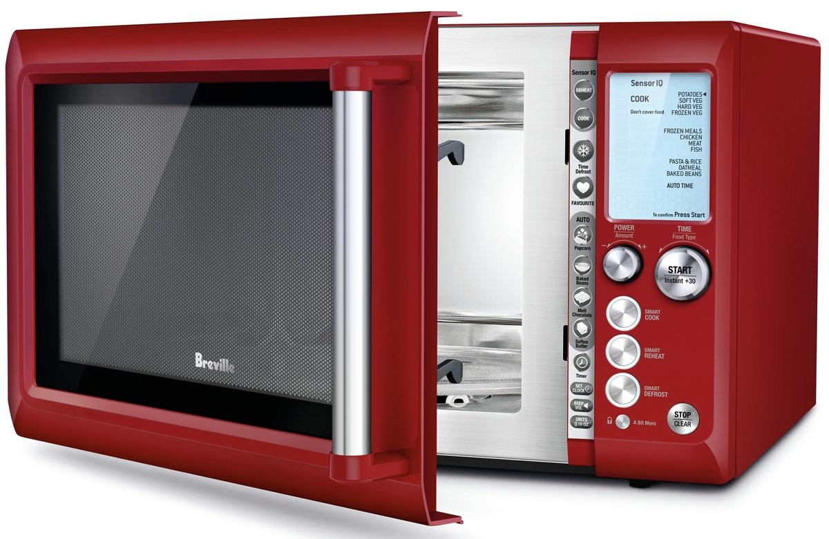 Breville BMO735CR Quick Touch Microwave Oven