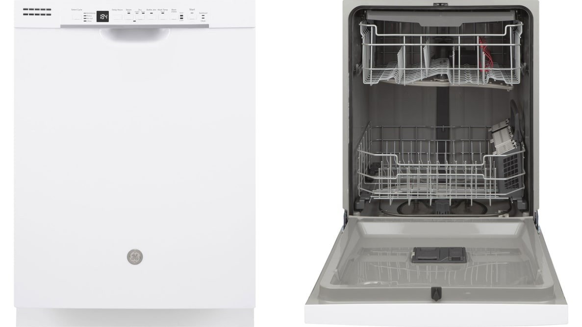 GE Dishwasher with Front Controls and Power Cord