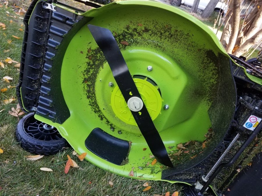 Lawm mower is excessively noisy and vibrates