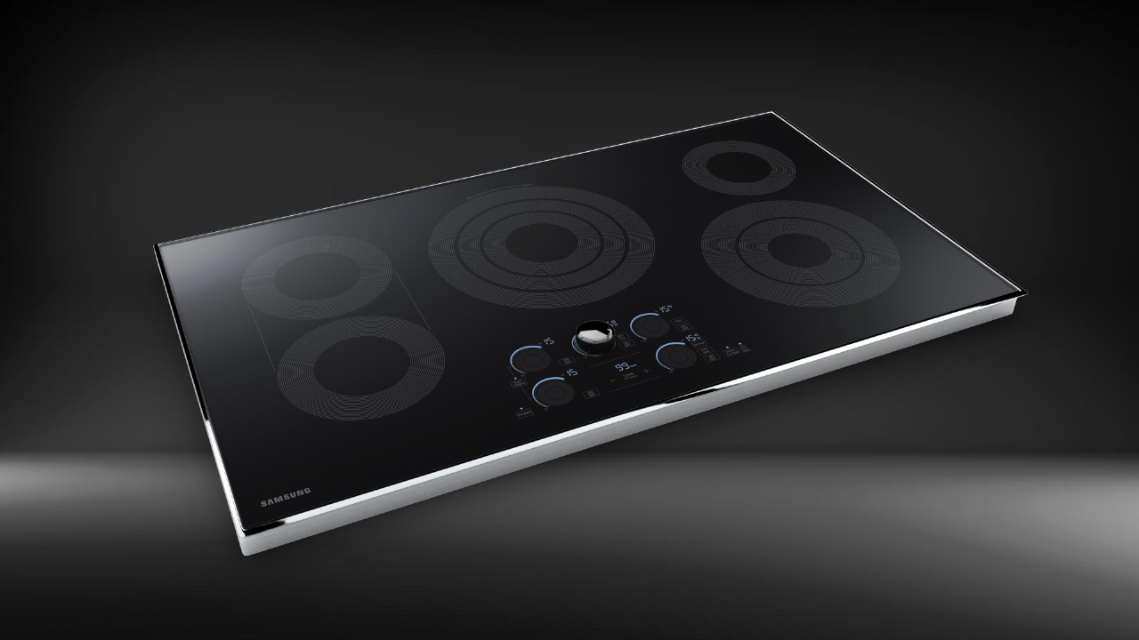 Samsung Electric Cooktop 30 in