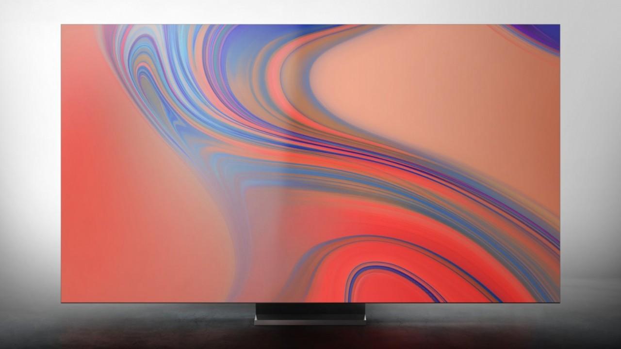 Samsung frameless QLED 8K TV