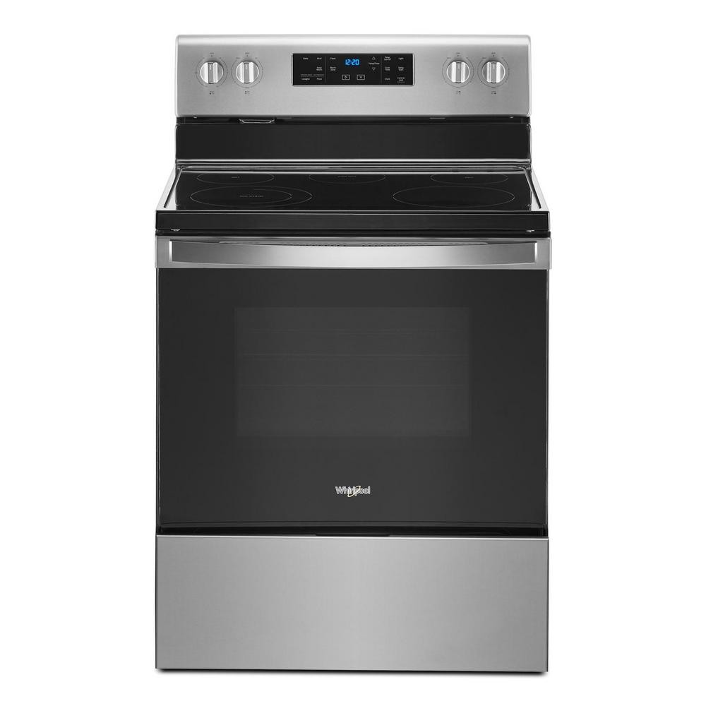 Whirlpool 30 in. 5.3 cu. ft. Electric Range with 5-Elements and Frozen Bake Technology