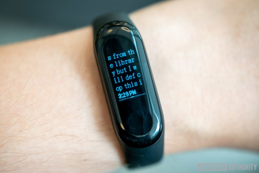 Xiaomi Mi Band 3 review - Android Authority