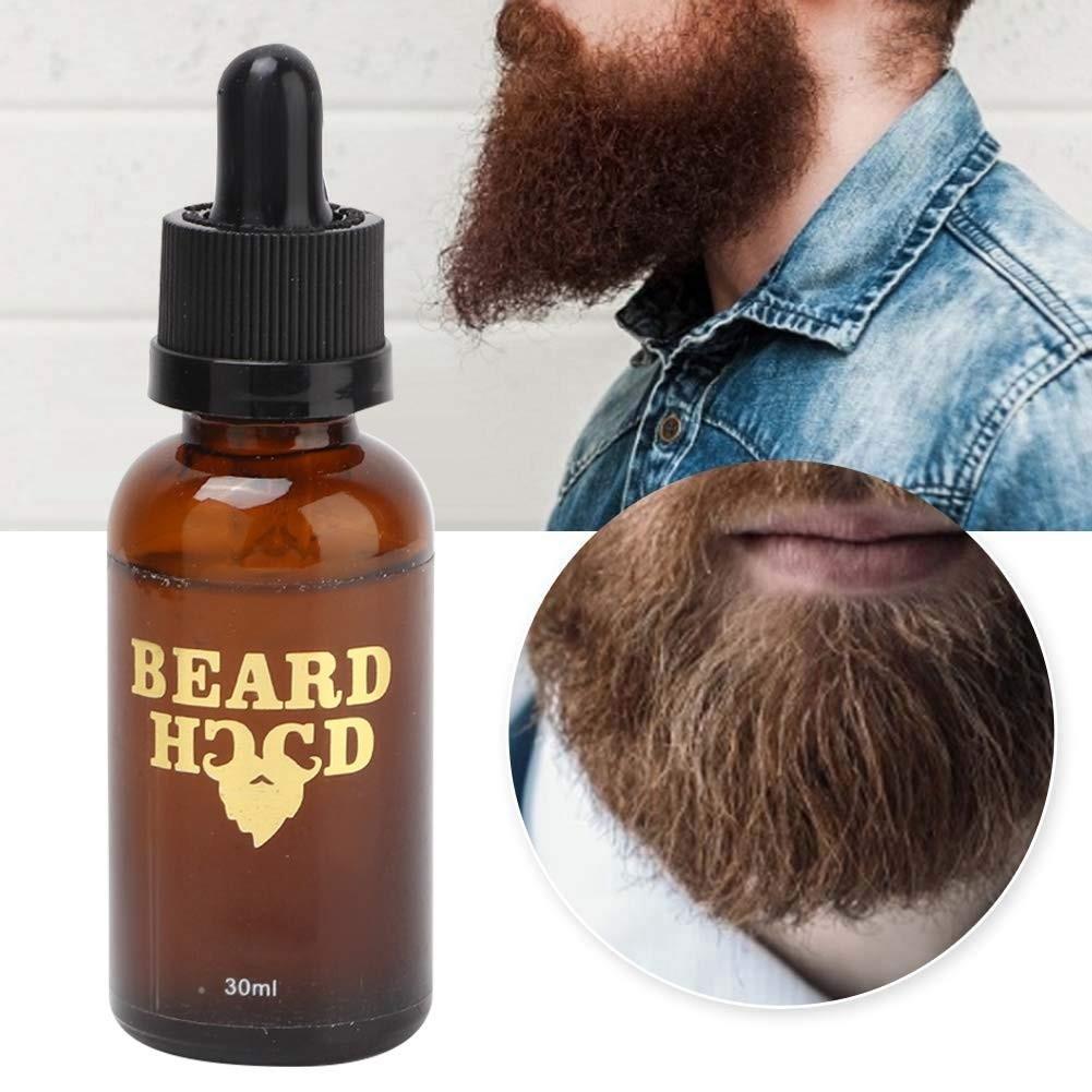 30g Men Beard Oil for Beard Growth, Soft Moisturizing Balm Beard Care Essence Oil, Facial Hair Grow