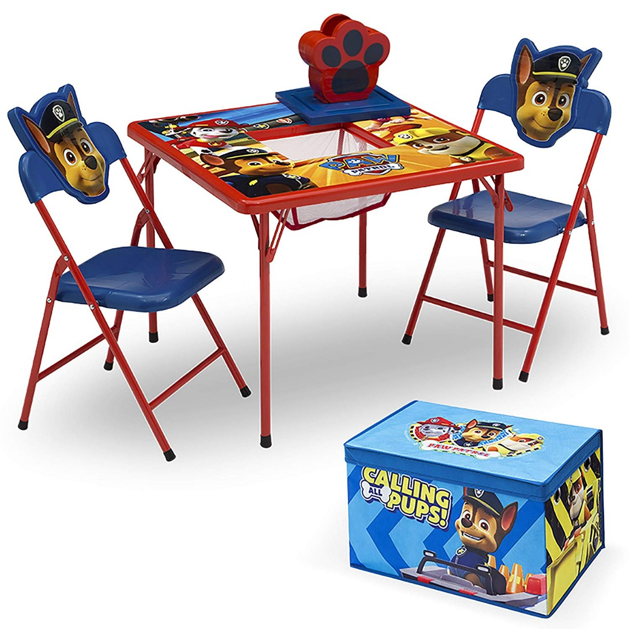 4 Piece Kids Furniture Set 2 Chairs And Table Set