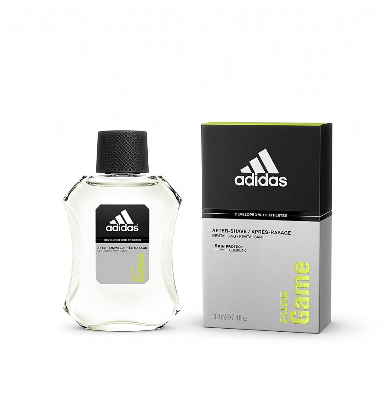 Adidas Pure Game Men After Shave by Adidas, 3.4 Ounce