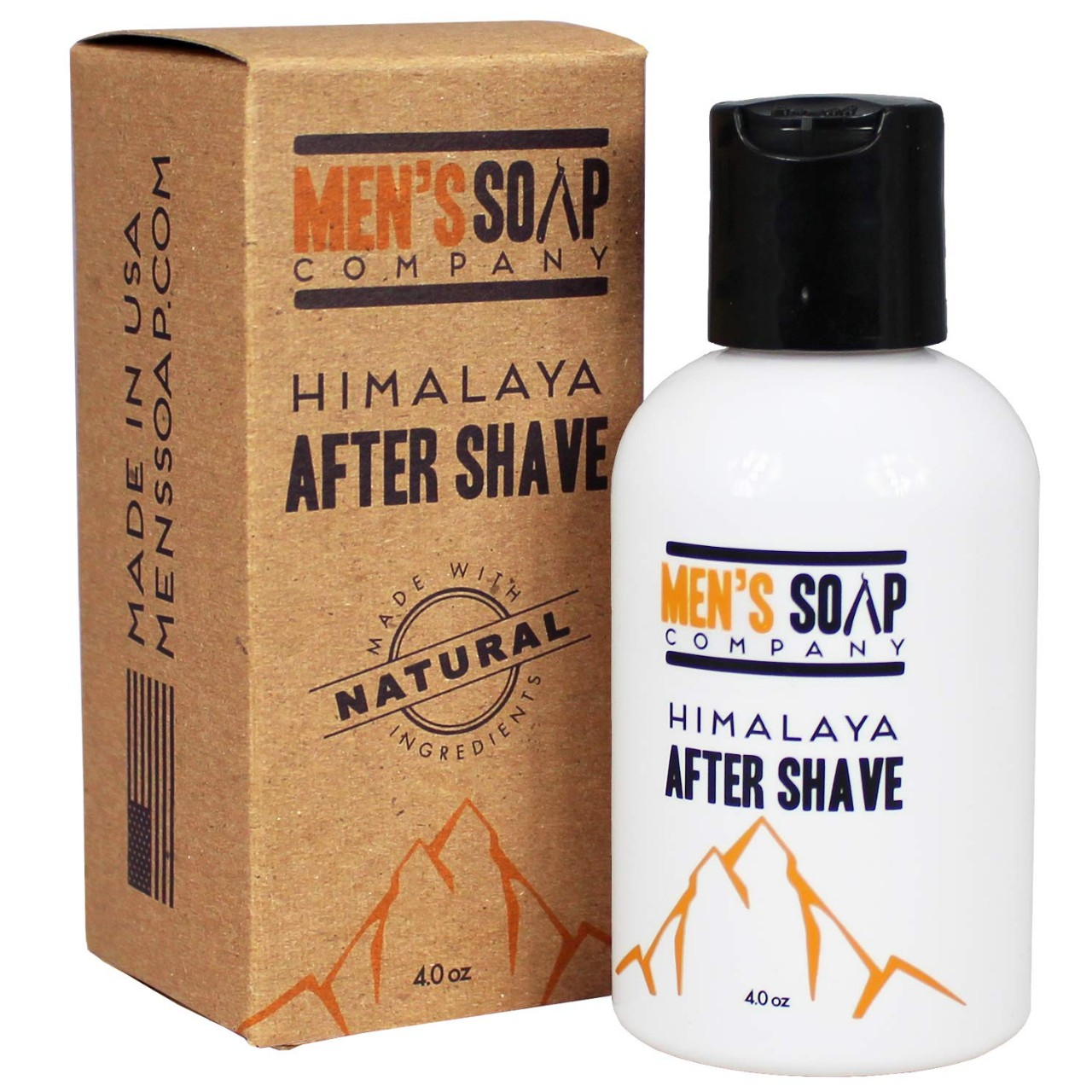 Aftershave for Men 4.0 oz After Shave Balm Made With Organic and Natural Vegan Plant Ingredients