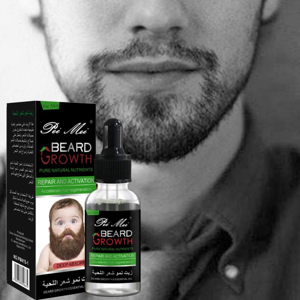 Beard Oil Conditioner for Men - Beard Balm Leave In Conditioner for Mustache & Beard Growth, Beard