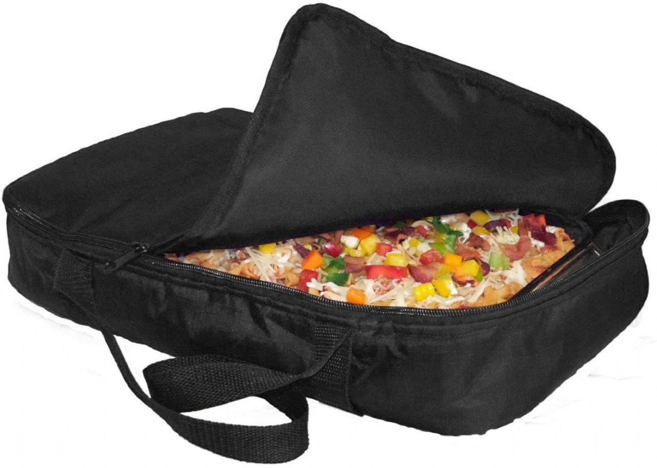 Casserole Carrier and Food Warmer - Portable Travel Casserole Tote (Holds up to 11