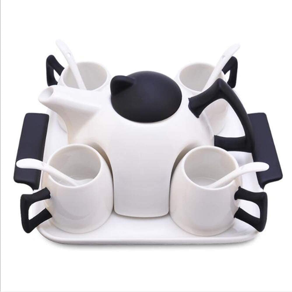 Coffee Tea British Bone China Coffee Cup Set European Afternoon Tea Set Creative Ceramic Cup Home