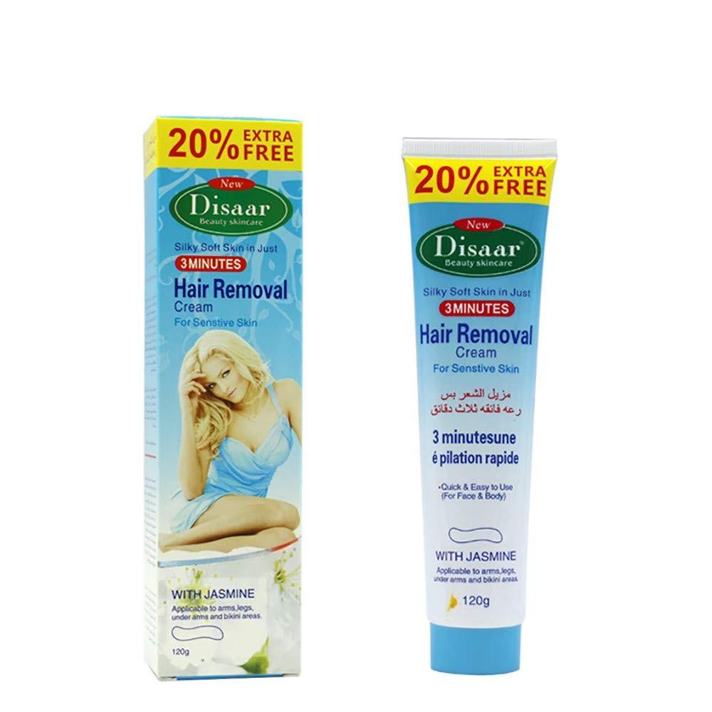 DDLmax Hair Removal Cream, Body hair removal cream,Skin Friendly Painless Premium Depilatory Cream