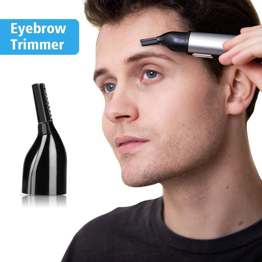 Ear Nose Hair Beard Brow Trimmer Clipper Waterproof, Wet Dry Application, Nose Ear Beard Eyebrow