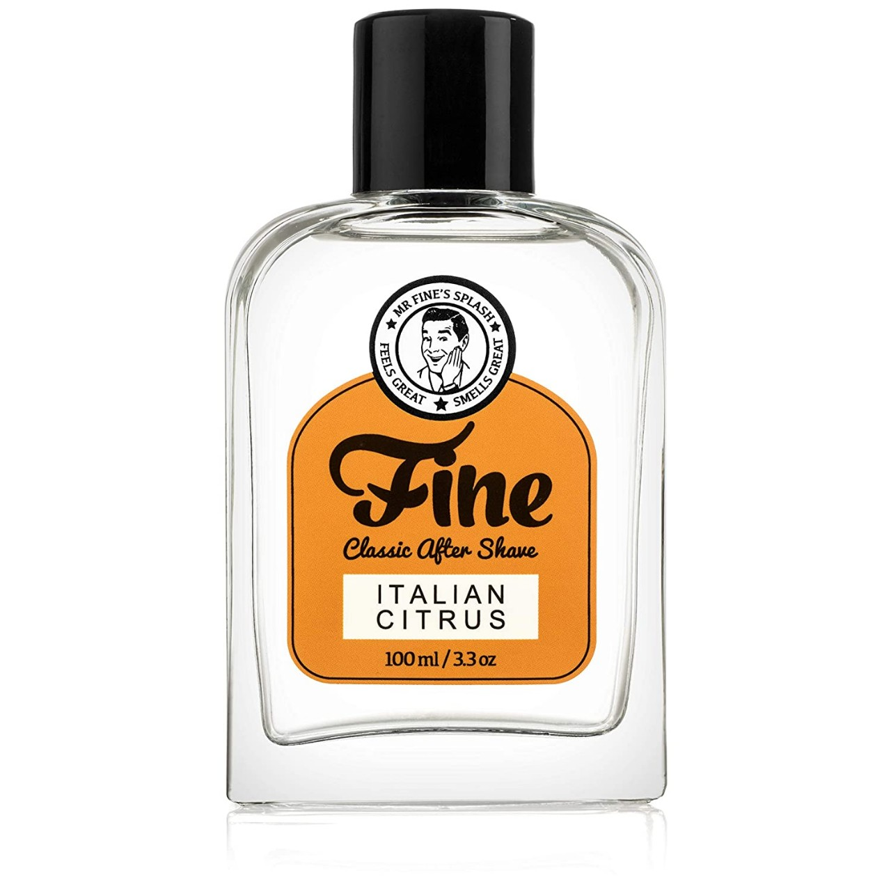 Fine Italian Citrus Mens Aftershave -A Splash Of Classic Barbershop Aftershave for Modern Men