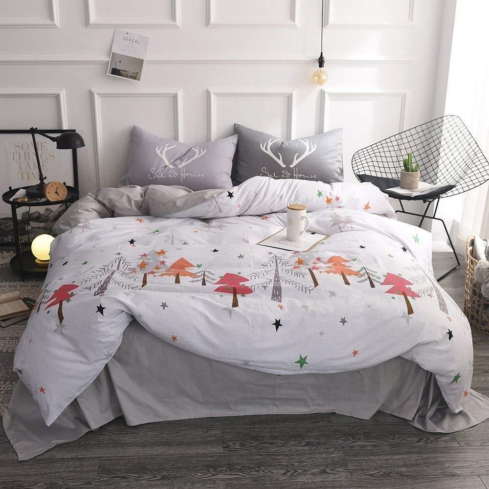 Latitude Zebra Print Boys Girls Teen  Complete Bed In A Bag Bedding Set