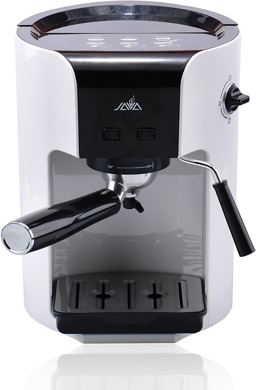 Java WSD18-050 Semi Auto ESPRESSO Coffee Maker With Milk Frother Coffee Pod Coffee Power Hard Capsul