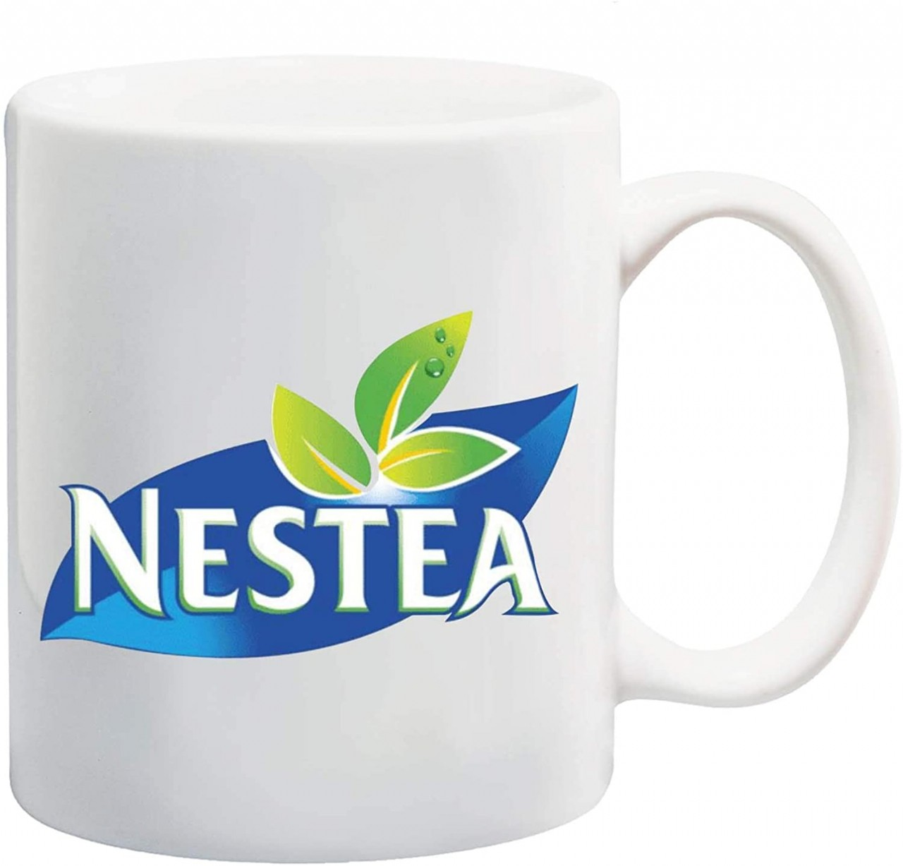 Manglam Mart Nestea White Tea Coffee Mug Ceramic Coffee Tea Cup