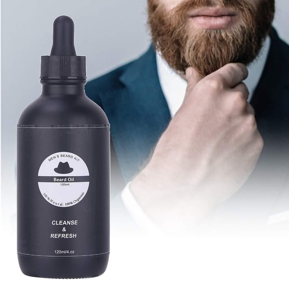 Men Beard Oil 120ml Men Beard Oil for Strengthens Beard Growth – Grooming Beard and Mustache