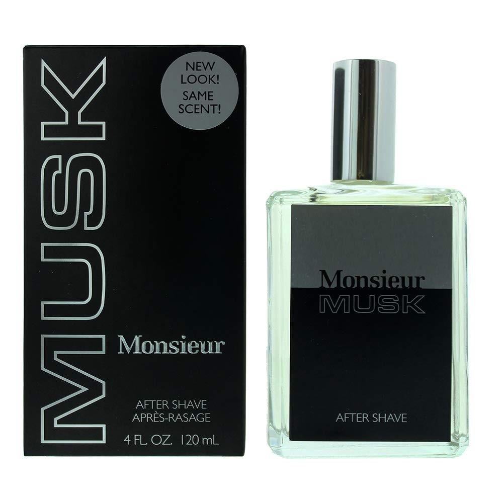 Monsieur Musk By Dana 4 oz After Shave for Men