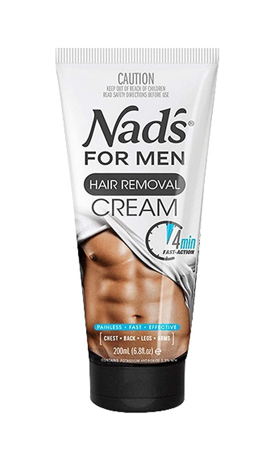 Nad's For Men Hair Removal Cream - 200 ml by NAD'S