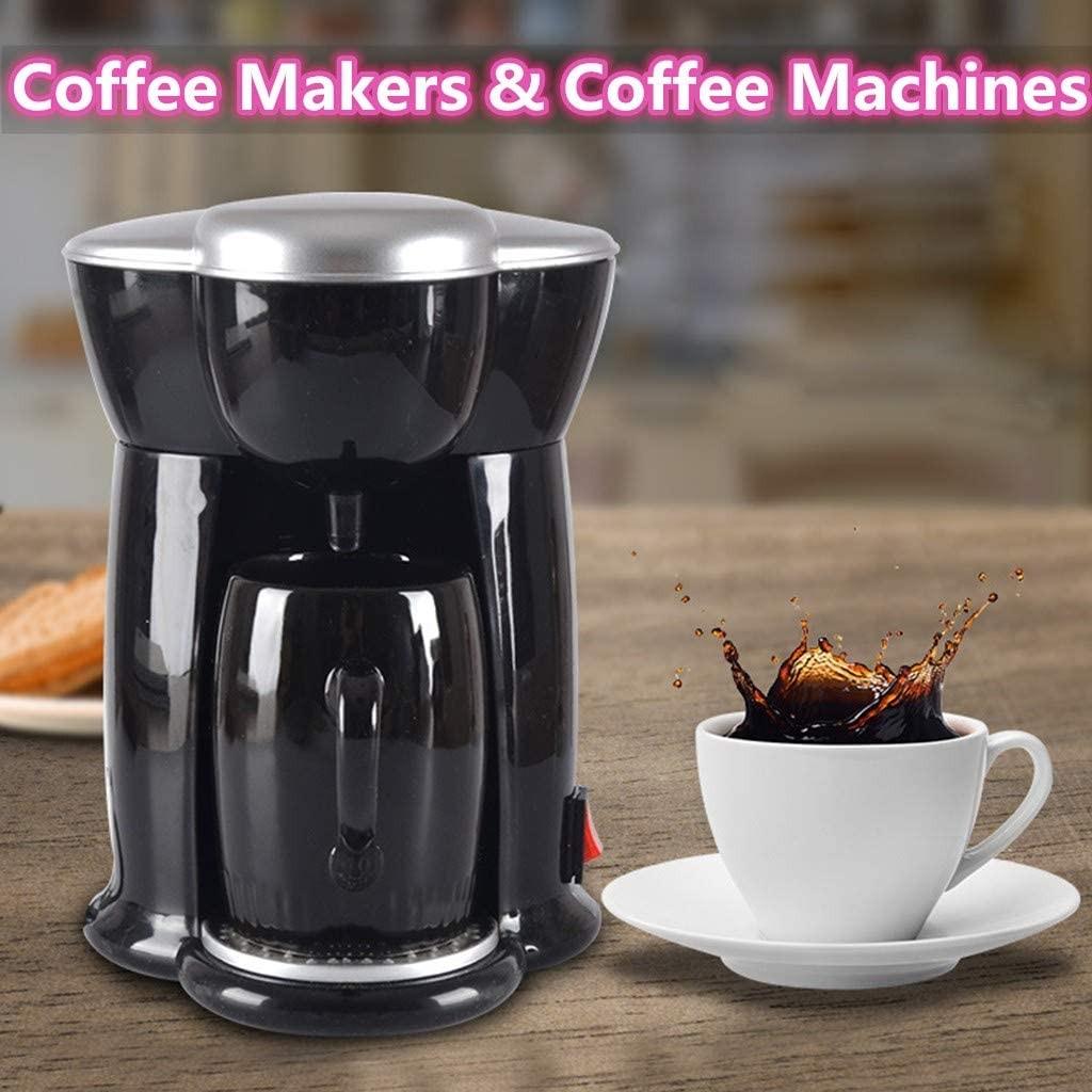 Nesee Mini Portable Electric Coffee Maker Single Cup Coffee Machine Espresso Machine & Coffeemaker