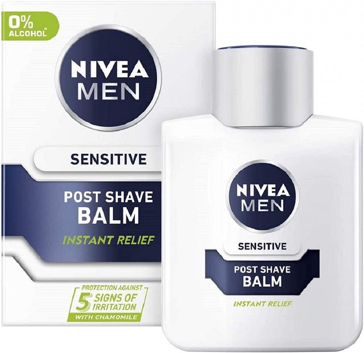 Nivea Men NIVEA FOR MEN Sensitive Post Shave Balm, 3.3 Ounce (Pack of 1) (thomaswi)