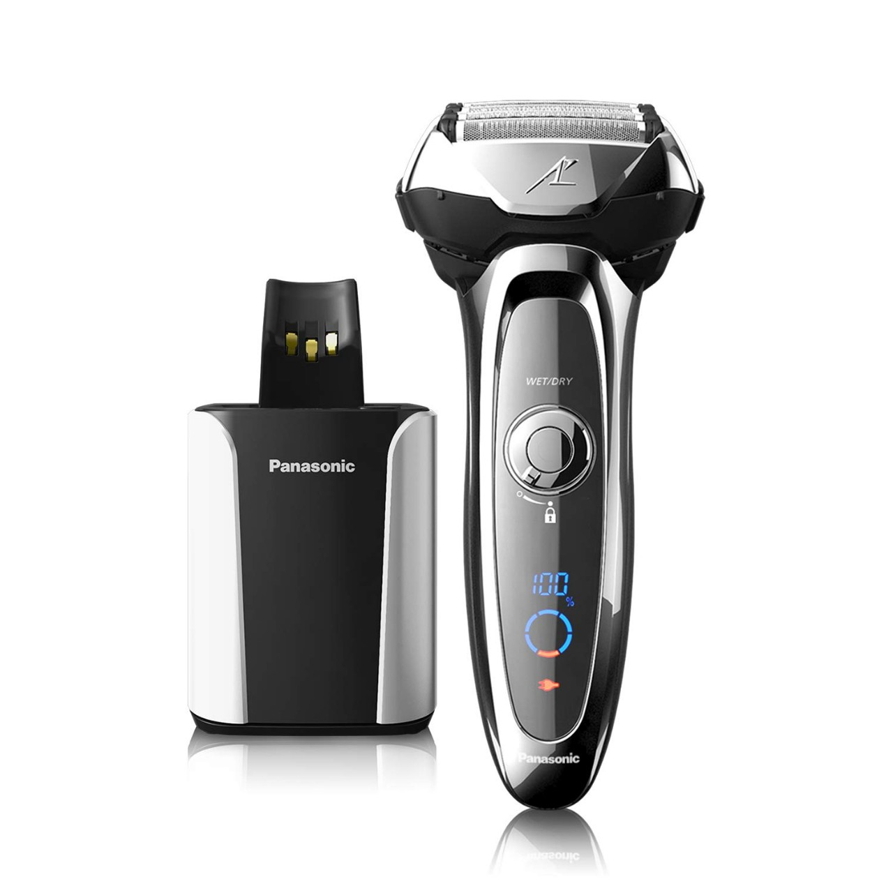 Panasonic Arc5 Electric Razor for Men, 5 Blades Shaver and Trimmer, shave sensor Technology