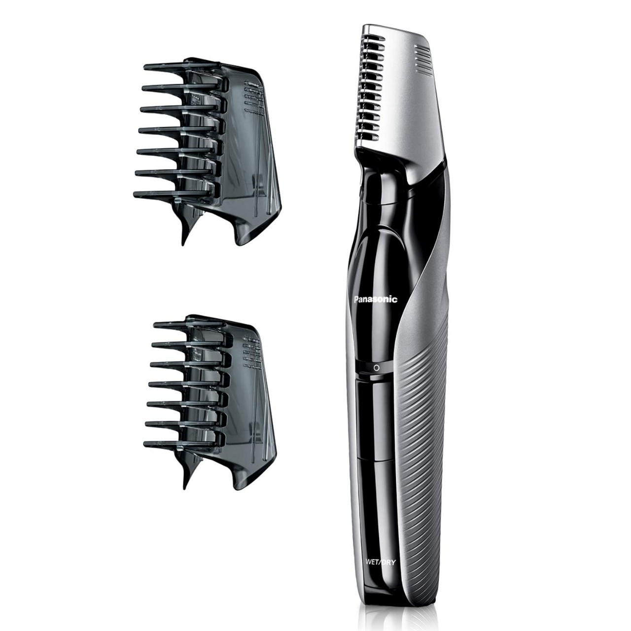Panasonic Electric Body Groomer and Trimmer for Men ER-GK60-S, Cordless, Showerproof with 3 Comb