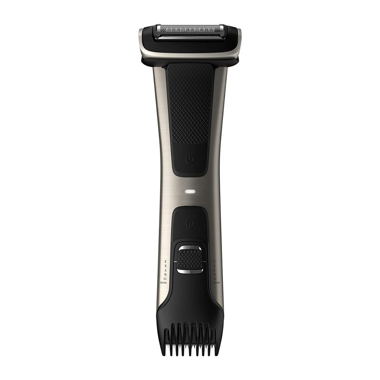 Philips Norelco BG7030/49 Bodygroom Series 7000, Showerproof Dual-sided Body Trimmer and Shaver