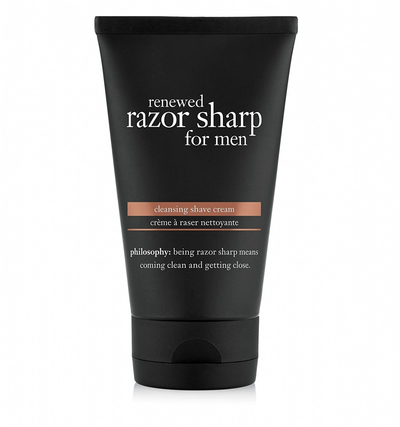 philosophy renewed razor sharp for men cleansing shave cream, 5 Fl Oz
